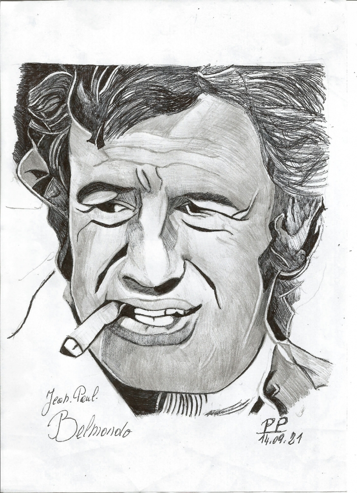 Jean-Paul Belmondo por Patoux
